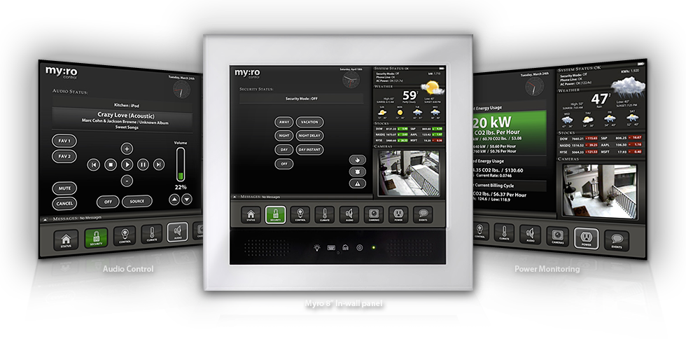 myro control interface
